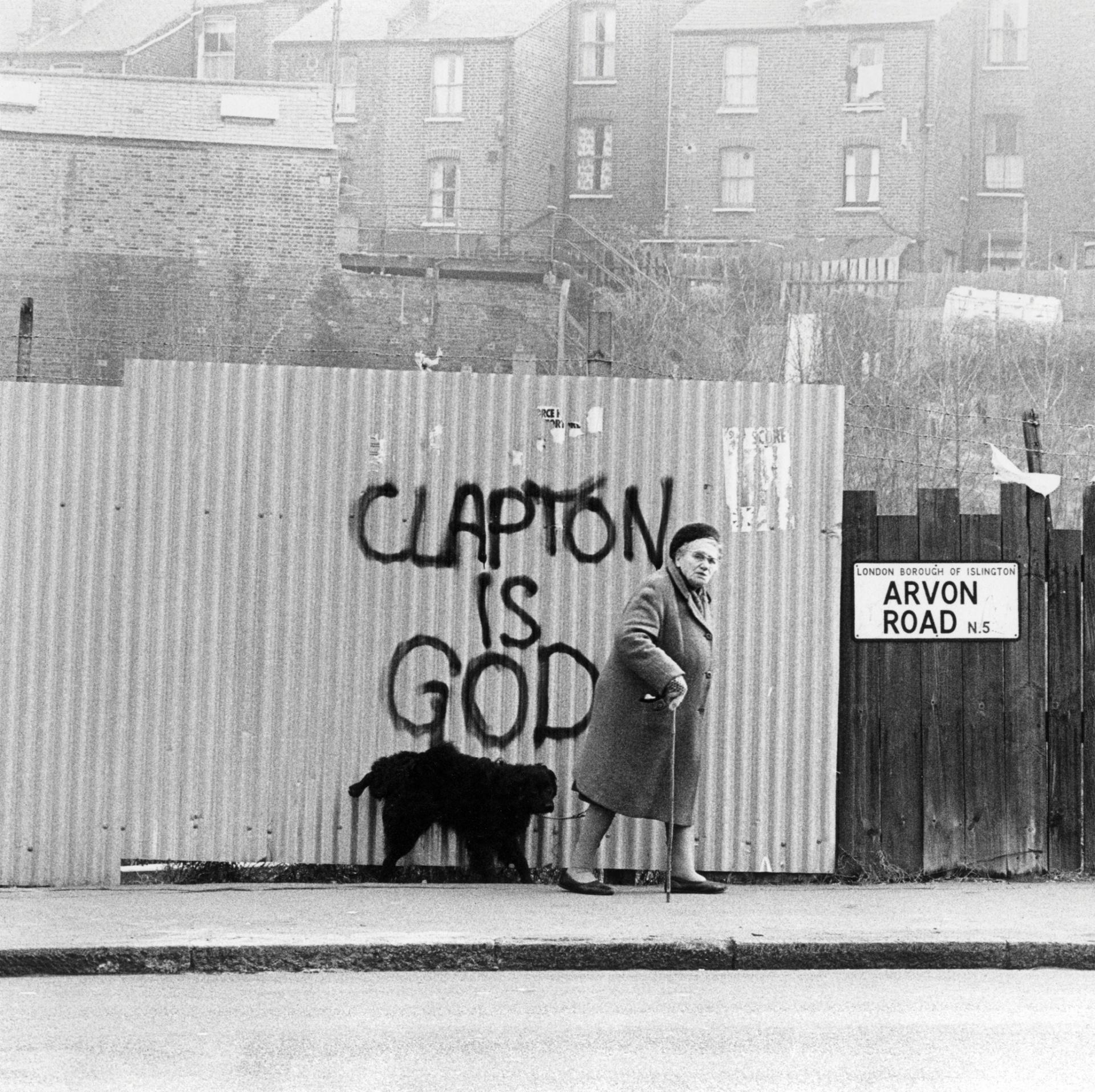 Grafitto: Clapton is God